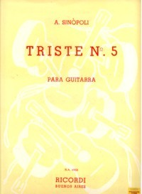 Triste no.5 available at Guitar Notes.