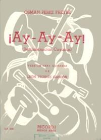 Ay-Ay-Ay(Gascon) available at Guitar Notes.