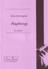 Playthings available at Guitar Notes.