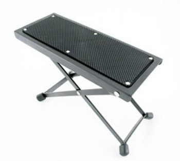 4 Position Metal Footstool available at Guitar Notes.