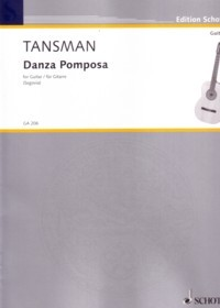 Danza Pomposa available at Guitar Notes.