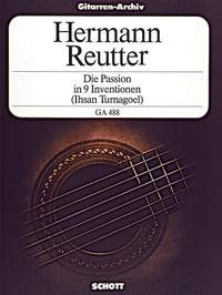 Die Passion in 9 Inventionen(Turnagol) available at Guitar Notes.