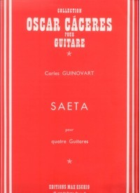 Saeta available at Guitar Notes.