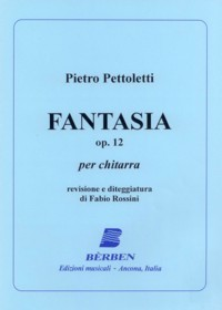 Fantasia, op.12 available at Guitar Notes.