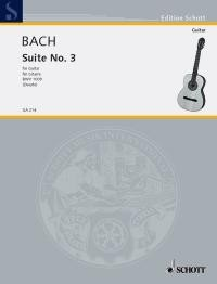 Cello Suite no.3, BWV1009(Duarte) available at Guitar Notes.