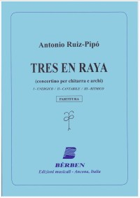 Tres en raya, concertino [Stg Orch] available at Guitar Notes.