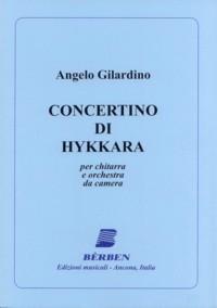 Concertino di Hykkara available at Guitar Notes.