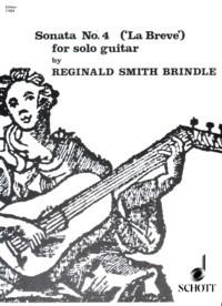 Sonata no.4: La Breve available at Guitar Notes.