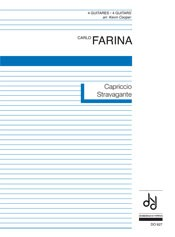 Capriccio Stravagante(Cooper) available at Guitar Notes.