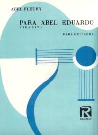 Para Abel Eduardo available at Guitar Notes.