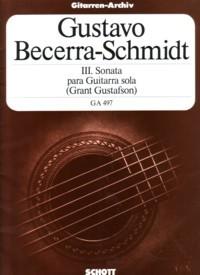 Sonata III available at Guitar Notes.