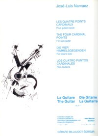 Les Quarte Points Cardinaux available at Guitar Notes.