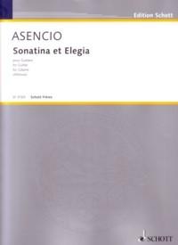 Sonatina et Elegia available at Guitar Notes.