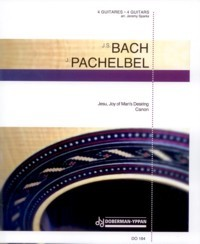 Jesu, Joy of Man's Desiring, BWV147 c/w Pachelbel available at Guitar Notes.