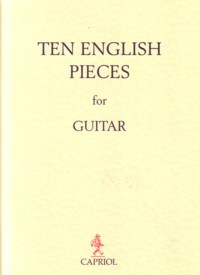Ten English Pieces available at Guitar Notes.