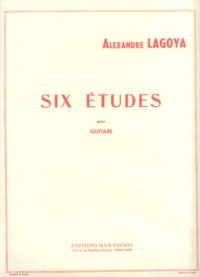 Six Etudes available at Guitar Notes.