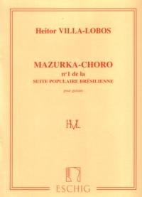 Mazurka-choro available at Guitar Notes.