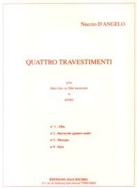 Quattro Travestimenti: no.2: Barcarola available at Guitar Notes.