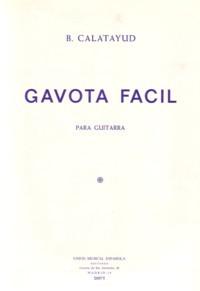 Gavota facil available at Guitar Notes.