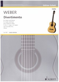 Divertimento op.38 (Theis) available at Guitar Notes.