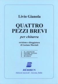 Quattro Pezzi Brevi(Marziali) available at Guitar Notes.