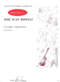 Cuatro Variantes(Marquez) available at Guitar Notes.