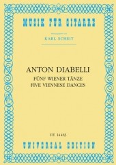 5 Viennese Dances(Scheit) available at Guitar Notes.
