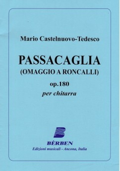 Passacaglia, op.180 available at Guitar Notes.