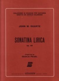 Sonatina Lirica,op.48 available at Guitar Notes.
