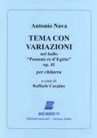 Tema con variazioni, op.41(Carpino) available at Guitar Notes.