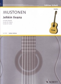 Jehkin Iivana, sonata available at Guitar Notes.