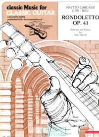 Rondoletto op.41 (Danner) available at Guitar Notes.