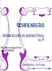 Sechs kleine Klavierstucke, op.19 available at Guitar Notes.