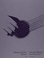 Tre Ricercari(Kovats) available at Guitar Notes.