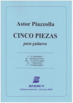 Cinco piezas (Gilardino) available at Guitar Notes.