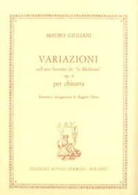 Variazioni, op.4(Chiesa) available at Guitar Notes.