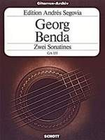 Two Sonatinas(Segovia) available at Guitar Notes.
