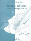 Trois Pieces polyglottes available at Guitar Notes.
