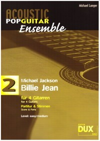 Billie Jean (Langer) available at Guitar Notes.