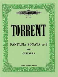 Fantasia Sonata no.2 available at Guitar Notes.