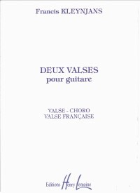 Deux Valses, op.64 available at Guitar Notes.