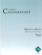 Quatre pieces d'apres Verlaine available at Guitar Notes.