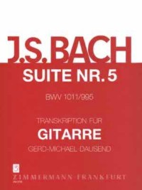 Cello Suite no.5, BWV1011(Dausend) available at Guitar Notes.