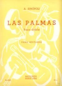 Las Palmas, paso doble available at Guitar Notes.