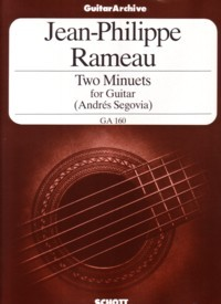 Two Minuets(Segovia) available at Guitar Notes.