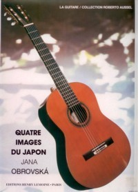 Quatre Images du Japon available at Guitar Notes.