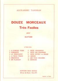 Douze Morceaux tres faciles, Vol.2 available at Guitar Notes.