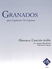 Moresca; Cancion Arabe(Chandonnet/Gagnon) available at Guitar Notes.