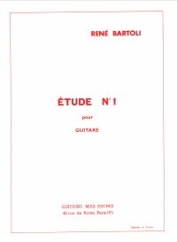 Etude no.1 available at Guitar Notes.