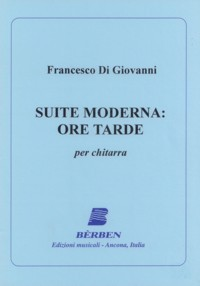 Suite Moderna: Ore Tarde available at Guitar Notes.